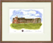 Ardingly College - Wood & Gilt Framed Pic