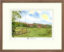 Balcombe Viaduct - Framed Leaflet Pic