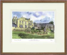 Burgess Hill - Wood & Gilt Framed Pic