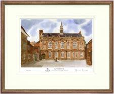 Cranbrook School Front - 2001 - Wood & Gilt Framed Pic