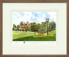Haywards Heath and Victoria Park - Framed Leaflet Pic