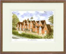 Hilden Grange - Wood & Gilt Framed Pic