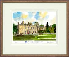Holmewood House - Wood & Gilt Framed Pic