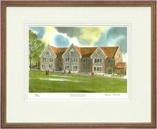 Hurstpierpoint Junior - Wood & Gilt Framed Pic