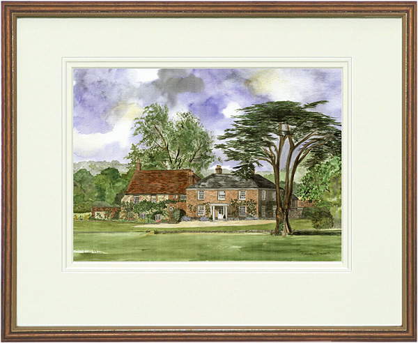 Lyss Place - Wood & Gilt Framed Pic