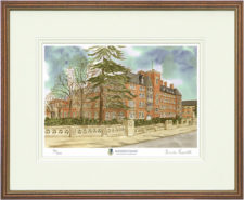 Malvern St James - Wood & Gilt Framed Pic