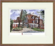 Moira House Girls - Wood & Gilt Framed Pic