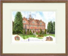Old Swinford - Wood & Gilt Framed Pic