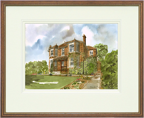 Spicers - Wood & Gilt Framed Pic