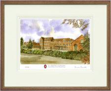 St Josephs - Wood & Gilt Framed Pic