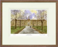 St Swithuns - Wood & Gilt Framed Pic