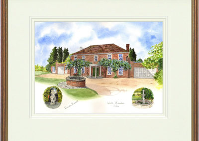 Well House, Uckfield - Wood & Gilt Framed Pic