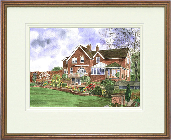 West Mead - Wood & Gilt Framed Pic