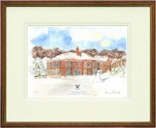 Woldingham Snow - A4Framed4Leaflet