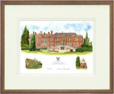 Woldingham - Wood & Gilt Framed Pic