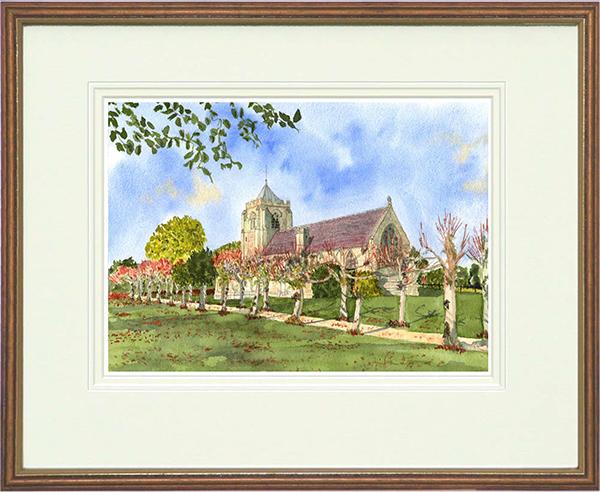 All Saints Church, Danehill