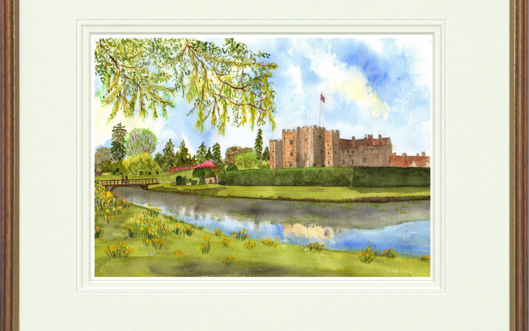 Hever Castle painting available