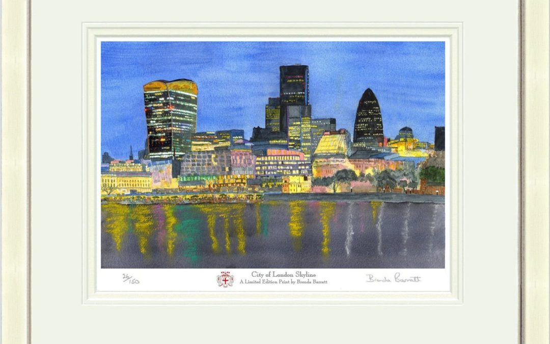 City of London Skyline – now available