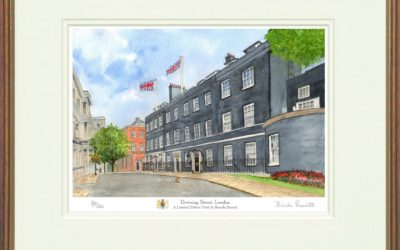 A Painting Of Downing Street