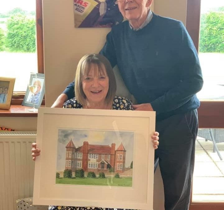 Hunstanton Country Club Anniversary Painting